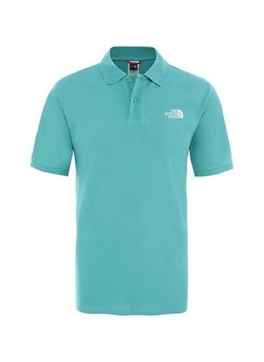 The North Face Polo Piquet Erkek T-Shirt Yeşil Renkli
